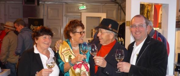 Wijnkoningin 'even thuis' op Chateau Maestricht